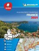 France 2021 - Tourist & Motoring Atlas Multi-flex