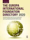 The Europa International Foundation Directory 2020 (eBook, ePUB)