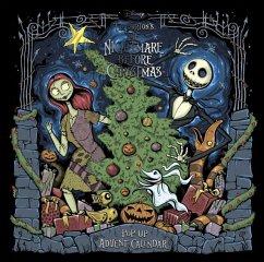 Disney Tim Burton's The Nightmare Before Christmas Pop-Up Book and Advent Calendar - Studio Press