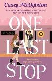 One Last Stop (eBook, ePUB)