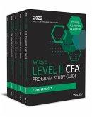 Wiley's Level II CFA Program Study Guide 2022