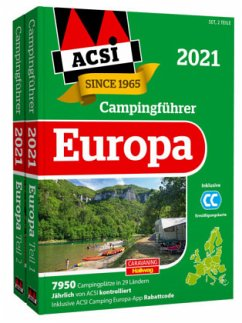 ACSI Internationaler Campingführer Europa 2021 - Wagner, Ingo