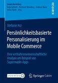Persönlichkeitsbasierte Personalisierung im Mobile Commerce