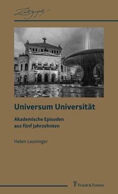 Universum Universität (eBook, PDF) - Leuninger, Helen