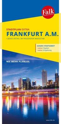 Falk Stadtplan Extra Standardfaltung Frankfurt am Main 1:20 000