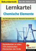 Lernkartei Chemische Elemente