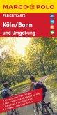 MARCO POLO Freizeitkarte Köln, Bonn und Umgebung 1:110 000