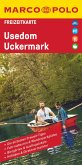 MARCO POLO Freizeitkarte Usedom, Uckermark 1:100 000
