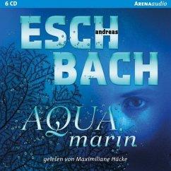 Aquamarin / Saha Bd.1 (6 Audio-CDs) (Mängelexemplar) - Eschbach, Andreas