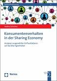 Konsumentenverhalten in der Sharing Economy (eBook, PDF)