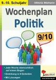 Wochenplan Politik / Klasse 9-10