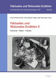 Faktuales und fiktionales Erzählen II (eBook, PDF)
