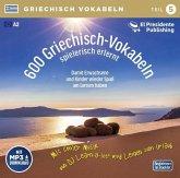 600 Griechisch-Vokabeln spielerisch erlernt, 1 Audio-CD mit mp3-Download Code