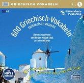 600 Griechisch-Vokabeln spielerisch erlernt; ., 1 Audio-CD mit mp3-Download Code