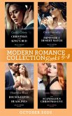 Modern Romance October 2020 Books 5-8: Christmas in the King's Bed (Royal Christmas Weddings) / Their Impossible Desert Match / Housekeeper in the Headlines / One Scandalous Christmas Eve (eBook, ePUB)