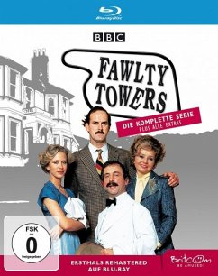 Fawlty Towers - Die komplette Serie plus alle Extras. Erstmals remastered und auf Blu-ray Remastered - Cleese,John/Scales,Prunella/Sachs,Andrew/+