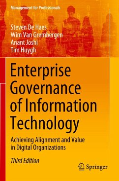 Enterprise Governance of Information Technology - De Haes, Steven;Van Grembergen, Wim;Joshi, Anant