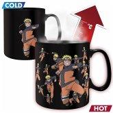ABYstyle - Naruto Shippuden Multicloning Thermoeffekt Tasse