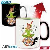 ABYstyle - Disney Peter Pan Neverland Thermoeffekt Tasse