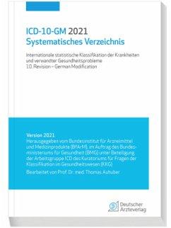 ICD-10-GM 2021 Systematisches Verzeichnis