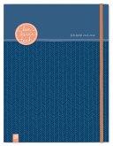 """Mein Lehrerplaner A4+, Ringbindung """"live - love - teach"""" - enzianblau"""