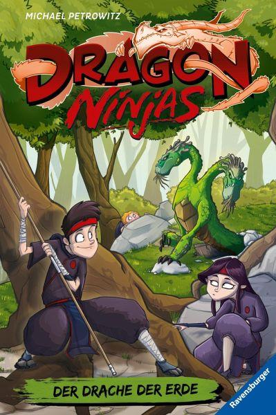 Buch-Reihe Dragon Ninjas