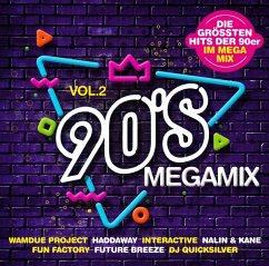 90s Megamix Vol.2-Die Größten Hits - Diverse