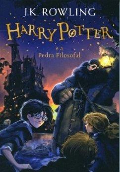 Harry Potter e a Pedra Filosofal / Harry Potter, portugiesische Ausgabe Bd.1 - Rowling, J. K.