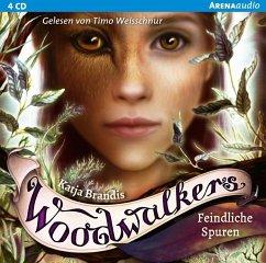 Feindliche Spuren / Woodwalkers Bd.5 (4 Audio-CDs) (Mängelexemplar) - Brandis, Katja