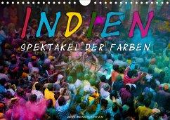 Indien - Spektakel der Farben (Wandkalender 2021 DIN A4 quer) - Benninghofen, Jens