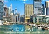 Dubai - Faszinierende Metropole am Persischen Golf (Wandkalender 2021 DIN A3 quer)