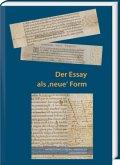 """Der Essay als """"neue"""" Form"""