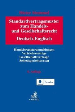 Standardvertragsmuster zum Handels- und Gesellschaftsrecht - Stummel, Dieter