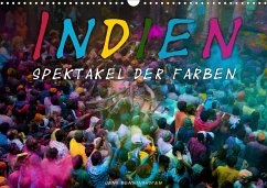 Indien - Spektakel der Farben (Wandkalender 2021 DIN A3 quer) - Benninghofen, Jens