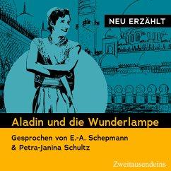 Aladin und die Wunderlampe - neu erzählt (MP3-Download) - Galland, Antoine