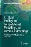 Artificial Intelligence, Computational Modelling and Criminal Proceedings (eBook, PDF)