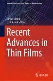 Recent Advances in Thin Films (eBook, PDF)