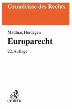 Europarecht - Herdegen, Matthias