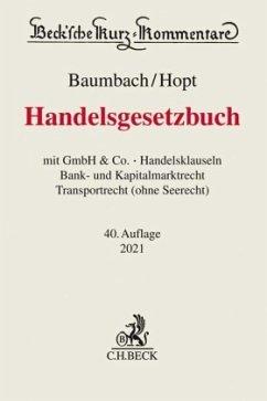 Handelsgesetzbuch - Hopt, Klaus J.;Kumpan, Christoph;Leyens, Patrick C.