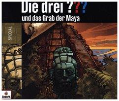 Die drei ??? und das Grab der Maya, 2 Audio-CDs