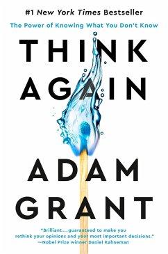 Think Again (eBook, ePUB) - Grant, Adam