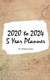 2020-2024 Five Year Monthly Planner (Small Hardcover Calendar Planner)