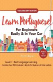 Learn Portuguese For Beginners Easily & In Your Car! Vocabulary Edition!