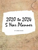 2020-2024 Five Year Monthly Planner (Large Hardcover Calendar Planner)
