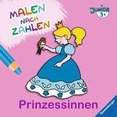 Malen nach Zahlen junior: Prinzessinnen (Mängelexemplar)