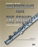 High Performance Flute - The Sequel, for flut and piano, w. Audio-CD