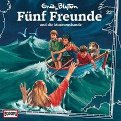 Folge 22: Fünf Freunde und die Museumsbande (MP3-Download) - Rabe, R.C. Quoos; Blyton, Enid