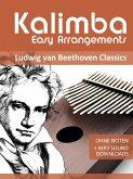Kalimba Easy Arrangements - Ludwig van Beethoven Classics (eBook, ePUB)