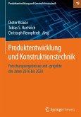 Produktentwicklung und Konstruktionstechnik