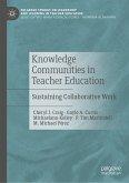 Knowledge Communities in Teacher Education (eBook, PDF)